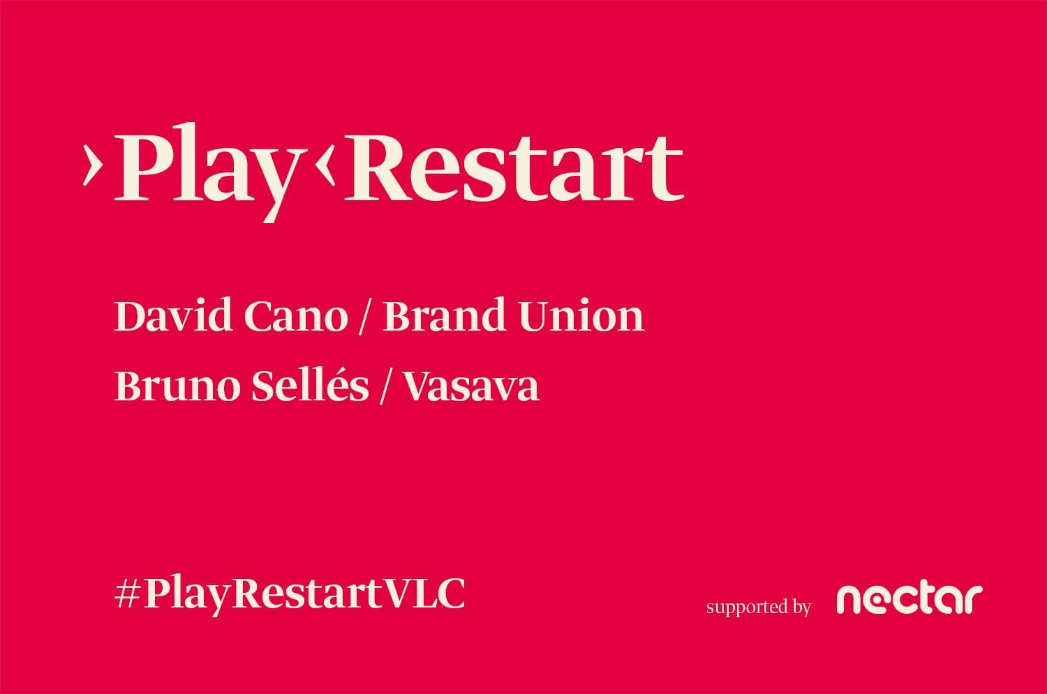 Play Restart. Digital Design Conference