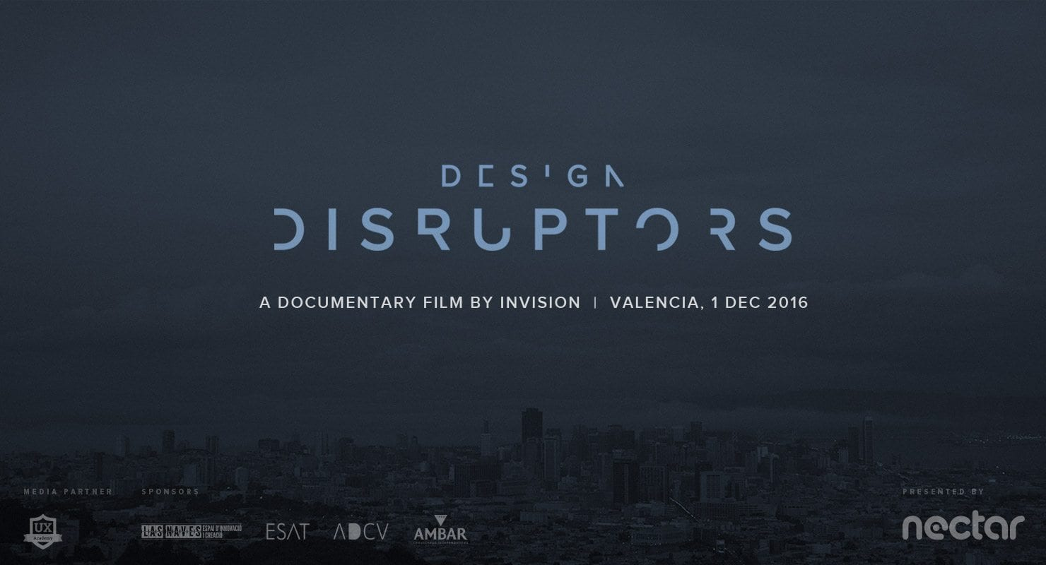 Design Disruptors Screening Valencia