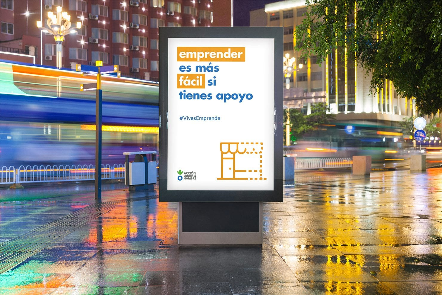Digital campaign for Action Against Hunger Spain