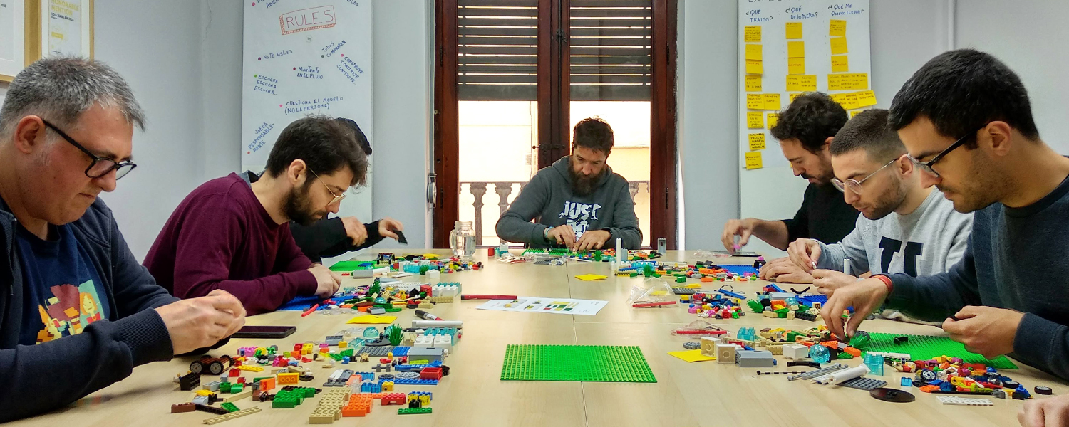 LEGO Serious Play for Andrea