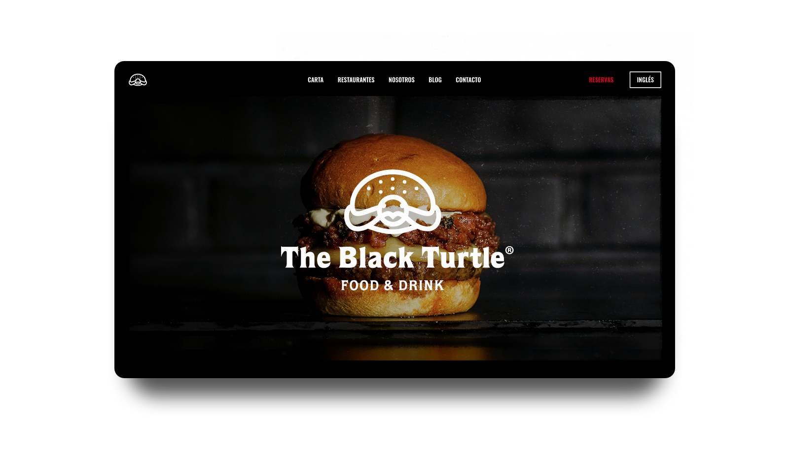 Las hamburguesas de autor hallan su réplica digital en la web de The Black Turtle
