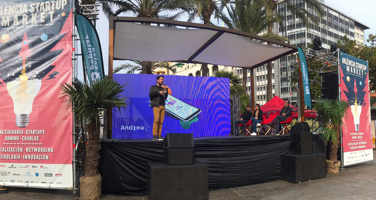 Solutions against bullying at the València Startup Market 2019. Andrea App