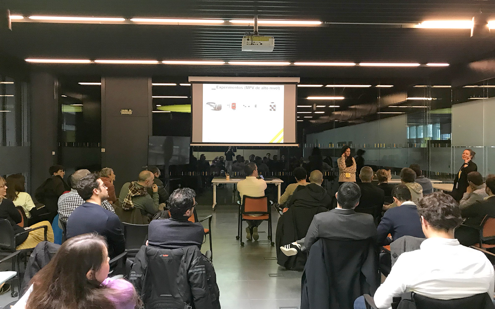 Andrea, startup selected at La Nave, the innovation and acceleration center of Madrid