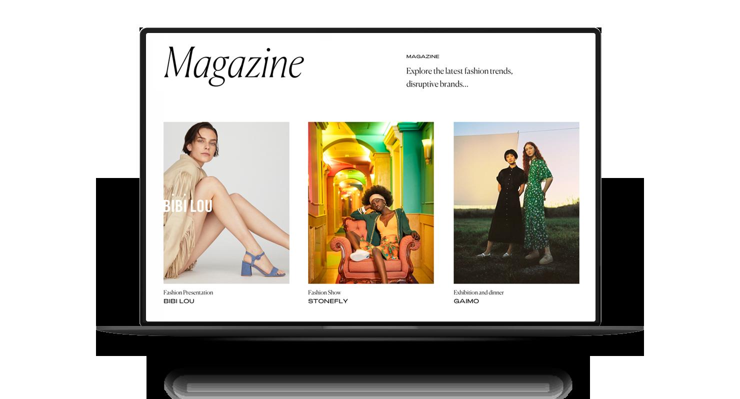 Yacare una web experiencial para una tienda de calzado con trayectoria