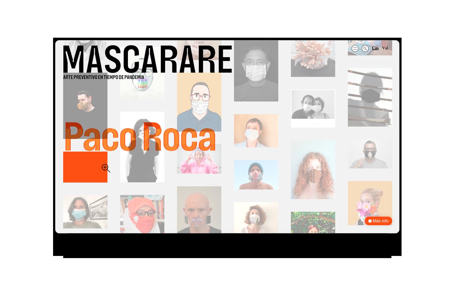 Cultura, museos y transformación digital, MuVIM / Mascarare