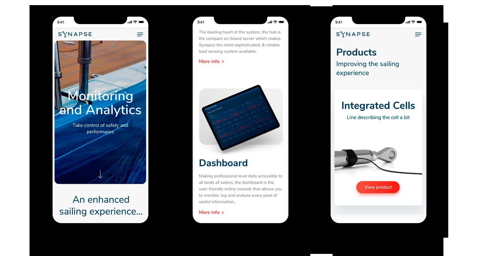 Lanzamos la nueva web de Synapse, desarrollo de productos de innovación referentes en la industria marina